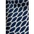 Haakpakket Honinggolfjes sjaal Blauw/wit