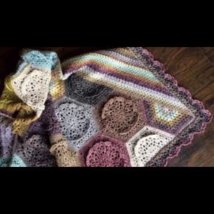 Scheepjes Garenpakket: Dutch Rose Blanket