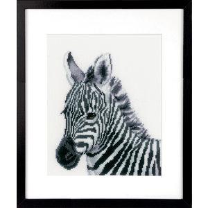 Vervaco Borduurpakket Zebra