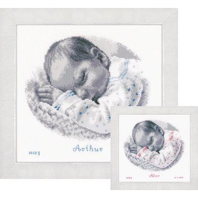 Vervaco Borduurpakket Slapende Baby