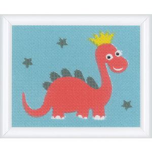 Vervaco Canvas Dino - Kits 4 Kids