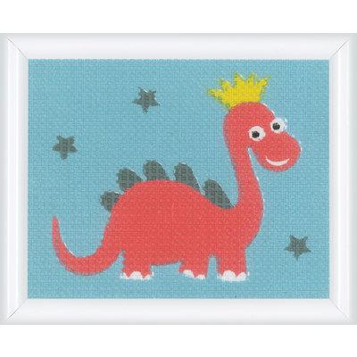 Vervaco Canvas Dino - Kits 4 Kids