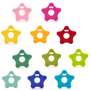 Durable Bijtring Ster (kies je kleur)