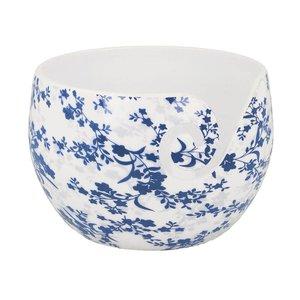 Scheepjes Yarn Bowl Blue Leaf Onbreekbaar