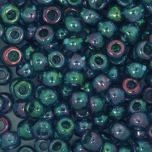 Toho Glaskralen rond 8-0 blauw/groen/paars (321)