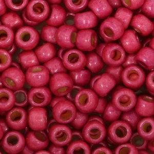 Toho Glaskralen rond 8-0 roze (PF563F)