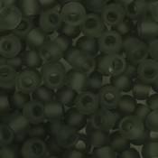 Toho Glaskralen rond 8-0 grijs (9BF)