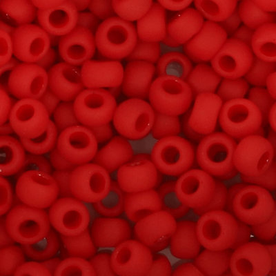Toho Glaskralen rond 8-0 rood (45F)