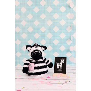 Garenpakket Pop-up Zack de Zebra