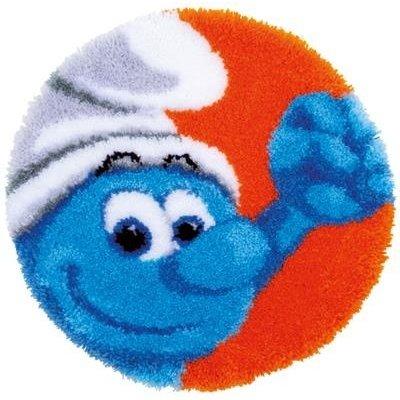 Vervaco Knooptapijt The Smurfs