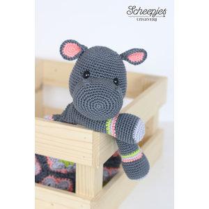 Garenpakket Knuffel-Nijlpaard
