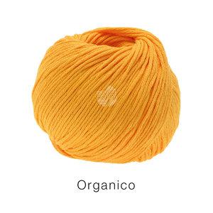 Lana Grossa Linea Pura Organico 123 - Zonnegeel