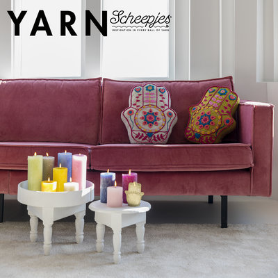 Scheepjes Inner Goddess Cushion - Yarn 9