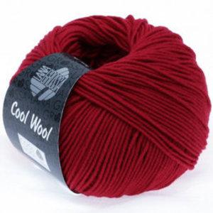 Lana Grossa Cool Wool 437 - Karmijnrood