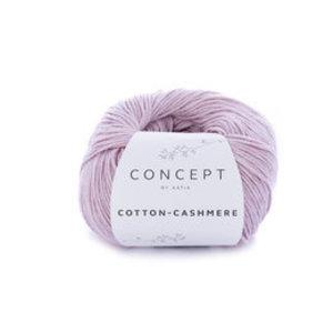 Katia Cotton cashmere 64 Licht medium paars