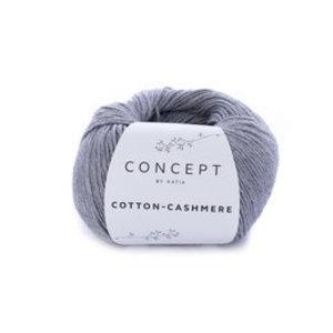 Katia Cotton cashmere 59 - grijs
