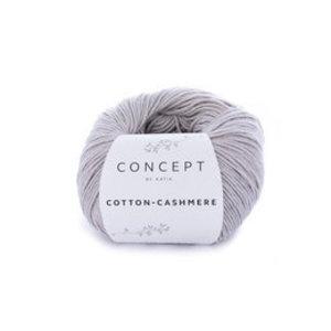 Katia Cotton cashmere 56 - steengrijs