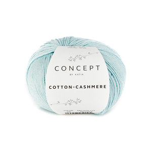 Katia Cotton cashmere 73 - Waterblauw