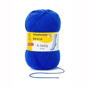 Schachenmayer Regia 4 draads electric blue  (6615)