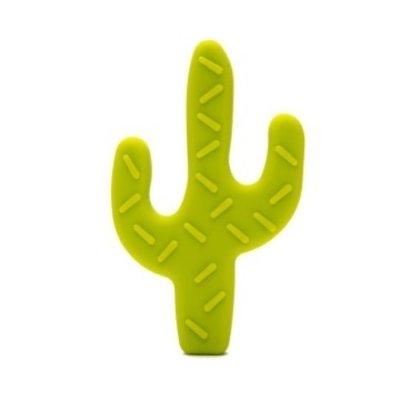 Durable Silicone bijtring Cactus