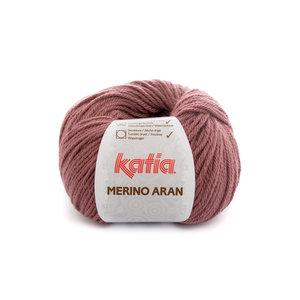 Katia Merino Aran 84 - donker bleekrood