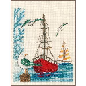 Vervaco Borduurpakket Zeilboot