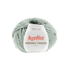 Katia Merino Tweed 313 - Resedagroen