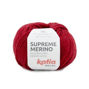 Katia Supreme Merino 89 - Rood