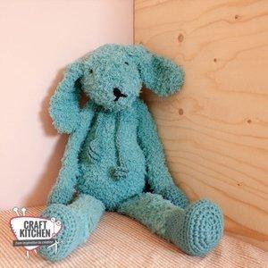 Durable Haakpakket: Knuffelkonijn Teddy met Durable Teddy