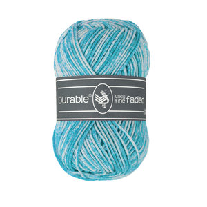 Durable Cosy Fine Faded 371 - Turquoise