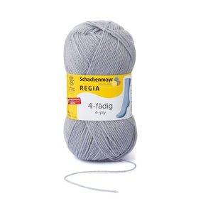 Schachenmayer Regia sokkenwol 4 draads 1968 - lichtgrijs