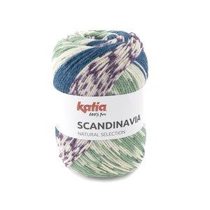 Katia Scandinavia 300 - Groen Lila Petrol