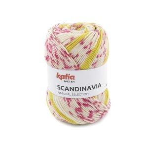 Katia Scandinavia 304 - Blauw Roze Geel