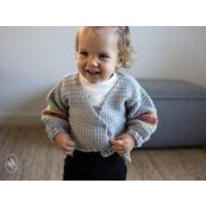 Durable Haakpakket Rainbow Babyvestje