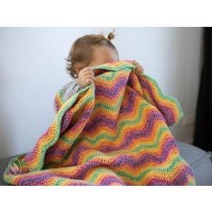Durable Haakpakket Baby Ripple Blanket