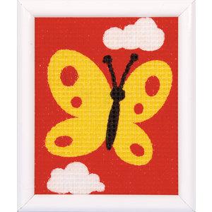 Vervaco Penelope Kit Gele Vlinder - Kits 4 Kids