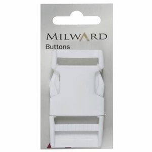 Milward Gespsluiting wit (1123)