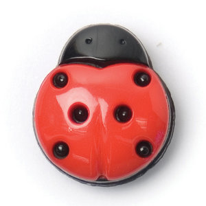 Milward Knoop lieveheersbeestje 15 mm (0099)