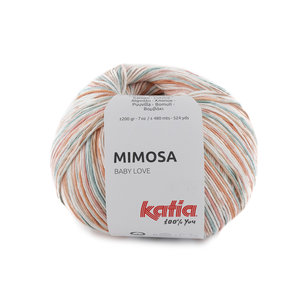 Katia Mimosa 300 - Oranje Koraal Turquoise