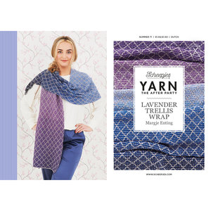 Scheepjes Yarn afterparty 71: Lavender Trellis Wrap