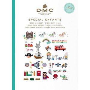 DMC DMC Borduurideeën Boekje - Kids