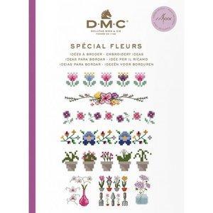 DMC DMC Borduurideeën Boekje - Bloemen