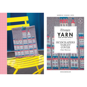 Scheepjes Yarn afterparty 126: Skyscrapers Tablet Cover