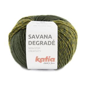 Katia Savana Degradé 104 - Groen/Geelgroen/Grijs