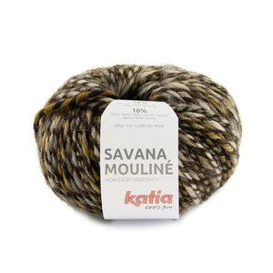 Katia Savana Mouliné 201 - Bruin/Licht Bruin/Donker Bruin