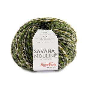 Katia Savana Mouliné 204 - Groen/Geelgroen/Grijs