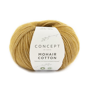Katia Mohair Cotton 73 - Oranjebruin