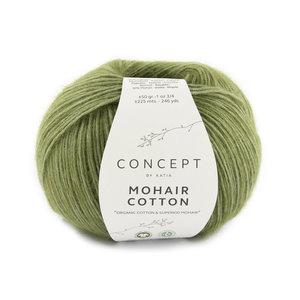 Katia Mohair Cotton 78 - Resedagroen