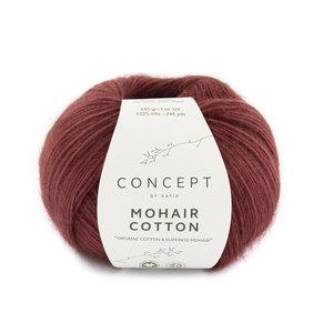 Katia Mohair Cotton 81 - Rood