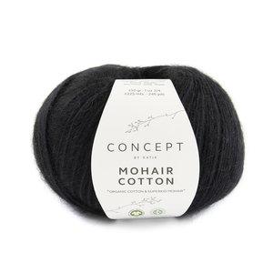 Katia Mohair Cotton 82 - Zwart
